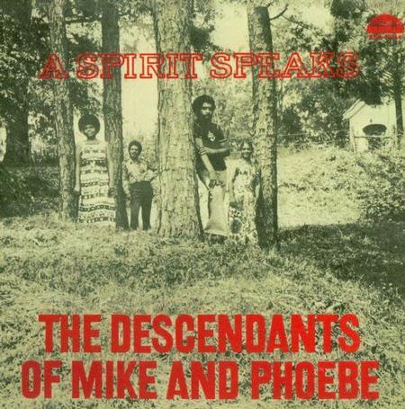 תקליטי ג'אז The Descendants Of Mike & Phoebe - A Spirit Speaks  (Limited Edition).jpg